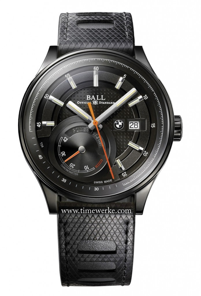 Ball Watch for BMW Power Reserve. Photo: © Ball Watch