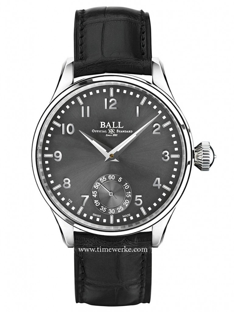 Ball Watch Officer Trainmaster Officer Manual Series. Photo: © Ball Watch