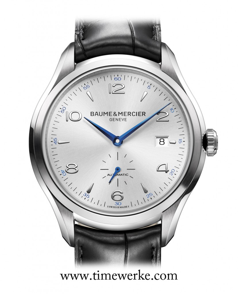 Baume & Mercier is also another popular gifting brand. Above: Baume & Mercier Clifton. Photo: © Baume & Mercier