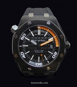 Audemars Piguet Offshore Diver, 2013 collection. Photo: © TANG Portfolio at SIHH 2013