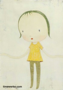 """Young Leaf"" by Nara Yoshitomo. Sold for S$141,600 at Est-Ouest's January 2013 auction in Singapore. Photo courtesy of Est-Ouest"