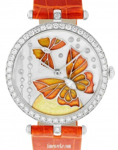 Van Cleef & Arpels Lady Arpels Papillon Orange Solaire, 2013 collection. Photo: © Van Cleef & Arpels