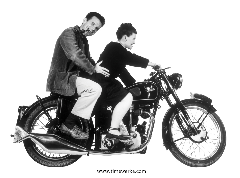Charles and Ray Eames – two of the most important American designers of all time. Photo courtesy of Marina Bay Sands