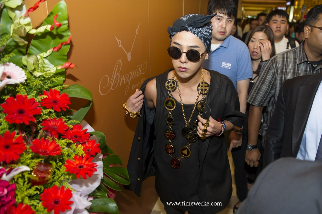Salon by Surrender's special guest at their official boutique opening in Marina Bay Sands was South Korean pop star G-Dragon. Photo: © Marina Bay Sands