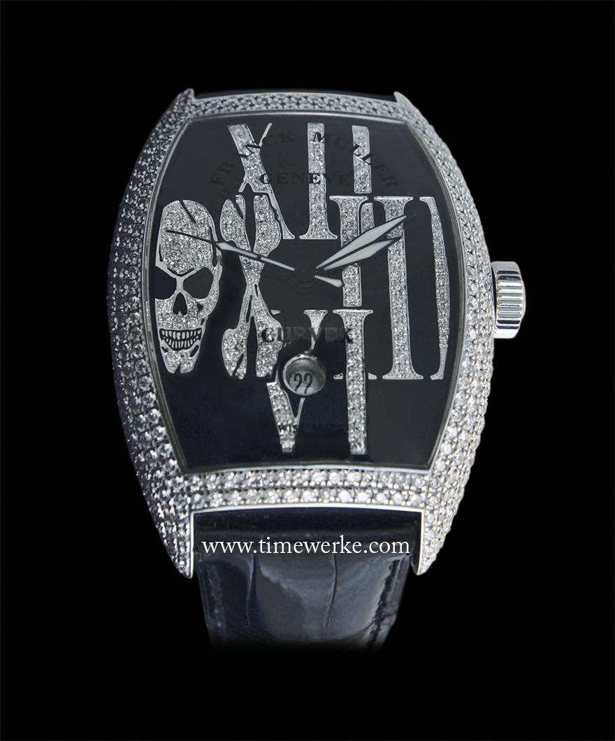 The Franck Muller Gothique features clever design elements. Photo: © TANG Portfolio. Geneva 2013