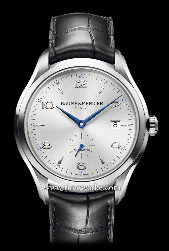 This Baume & Mercier Clifton wristwatch (ref. 10052) will be awarded to the winner of the brand's social media contest which runs from 7 April 2014 to 5 May 2014. Photo: © Baume & Mercier
