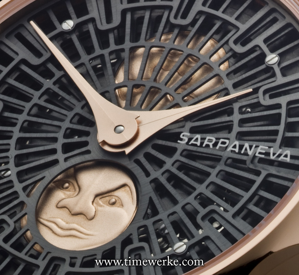 Sarpaneva Korona RG. Note the face of the moon. Photo: © Sarpaneva