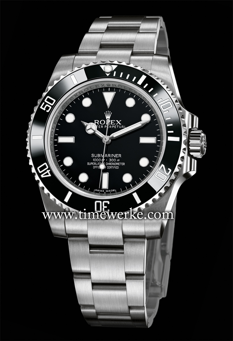 The Rolex Submariner Reference 114060 (introduced in 2012) is one watch you cannot go wrong with whether for daily use or for travelling and water-related sporting activities. This 40mm Submariner in steel features the Calibre 3130 automatic movement and has a unidirectional bezel with the black Cerachrom insert with engraved numerals coated with platinum through magnetron sputtering. It is water-resistant to 300 metres or 1,000 feet, more than sufficient for you to enjoy your recreational dives without any problems. Photo: © Rolex