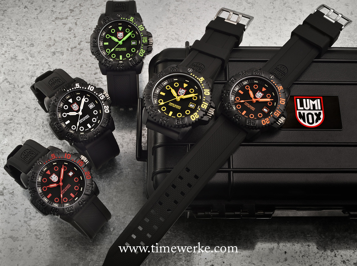 Luminox navy seal colormark nova up to the mark hooyah timewerke for Watches navy seals use
