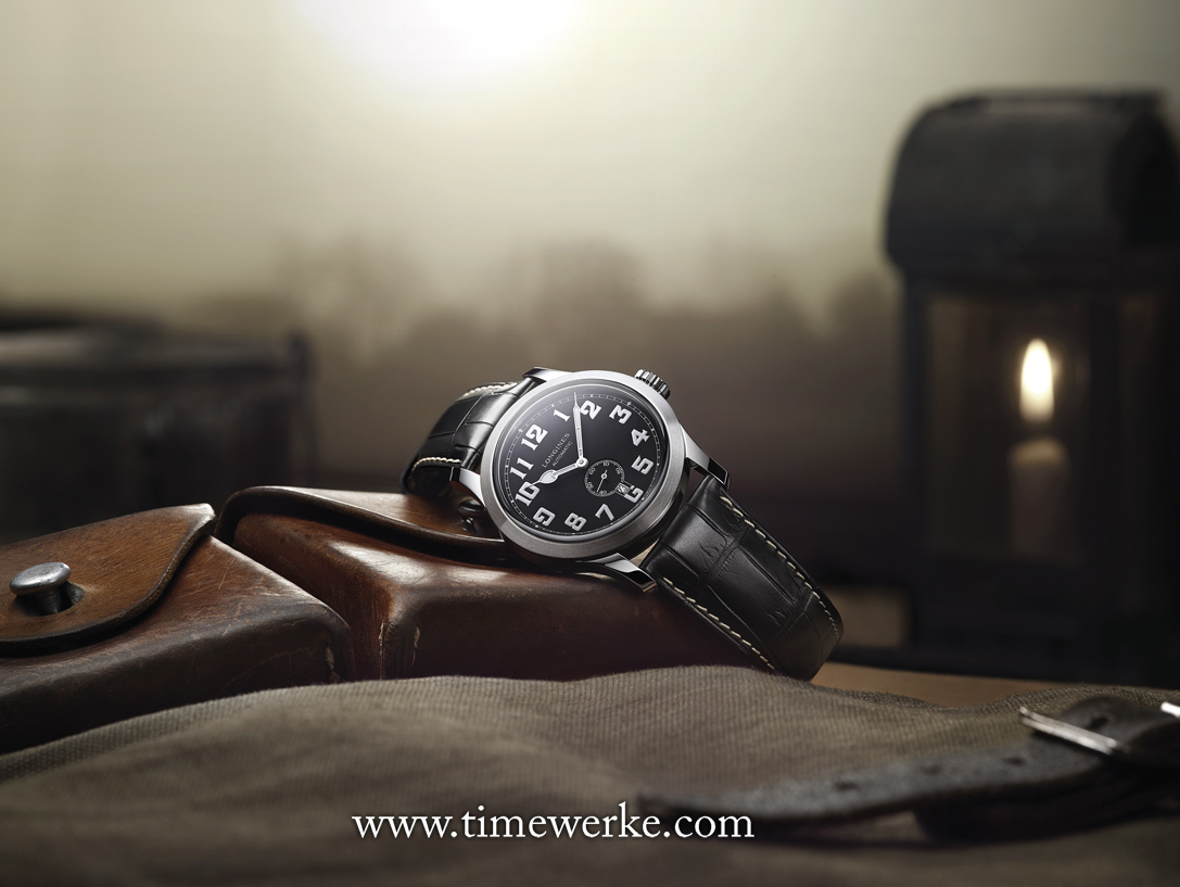 The Longines Heritage Military. Introduced in 2016, it is inspired by a Longines military wristwatch made for either the British or Americans during the early 20th century. Photo: © Longines